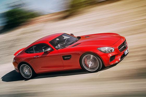 Mercedes AMG GT !!!Sperrfrist!!!