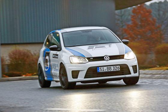B&B Polo R WRC weiß Seitenansicht