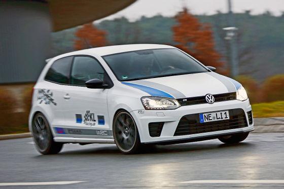 KL Racing Polo R WRC weiß Seitenansicht
