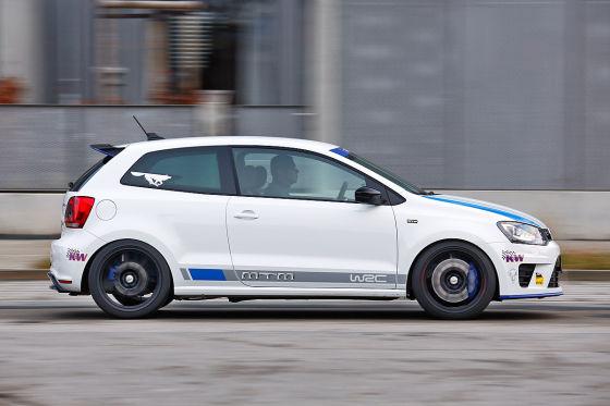 MTM Polo R WRC weiß Seitenansicht