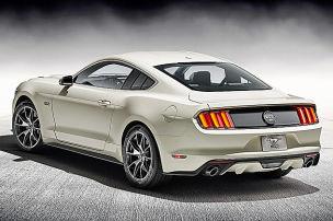 Jubil�ums-Mustang zum 50.