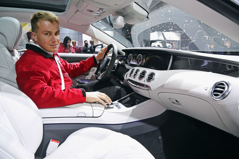 Mercedes S 63 Amg Coup 233 New York Auto Show 2014