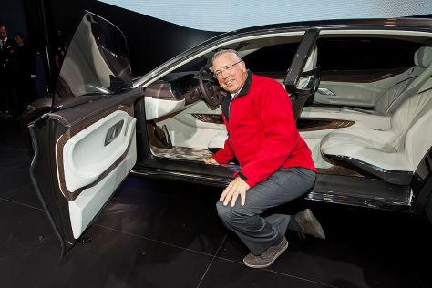 Bmw Vision Future Luxury Peking 2014 Sitzprobe Autobild