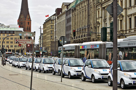 Carsharing in Hamburg