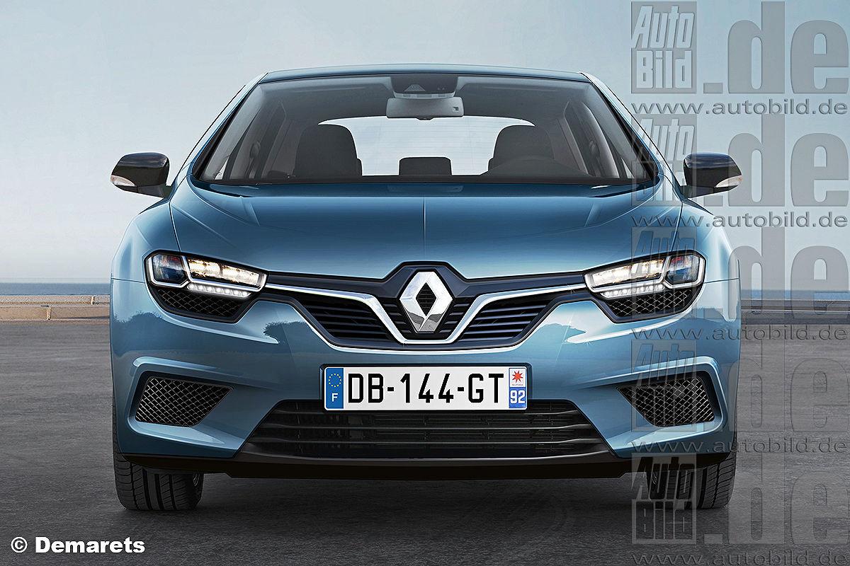 Renault Mégane (2014) Illustration