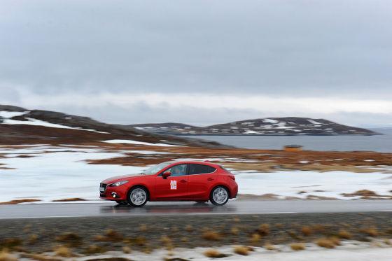 Vom Nordkap (NOR) nach Piteå (SWE)