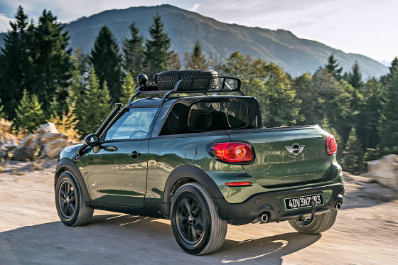 mini paceman adventure pick up 2014 bmw mini als pick up. Black Bedroom Furniture Sets. Home Design Ideas