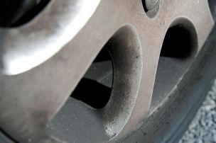 Giftiger Bremsstaub