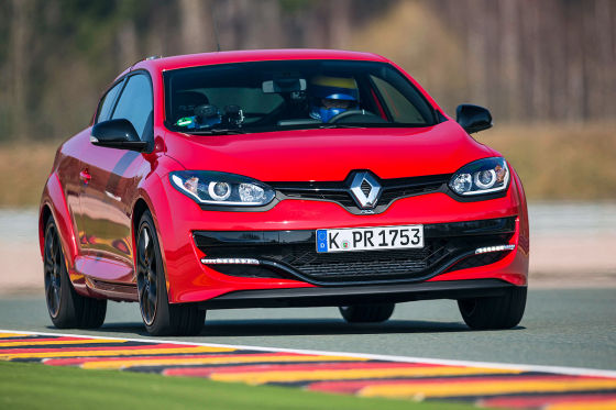 Renault Mégane RS Cup rot Frontansicht