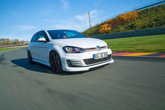HG Motorsport Golf GTI Performance weiß Frontansicht
