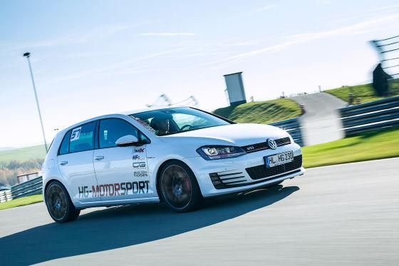 Oettinger Golf GTI Performance weiß Frontansicht
