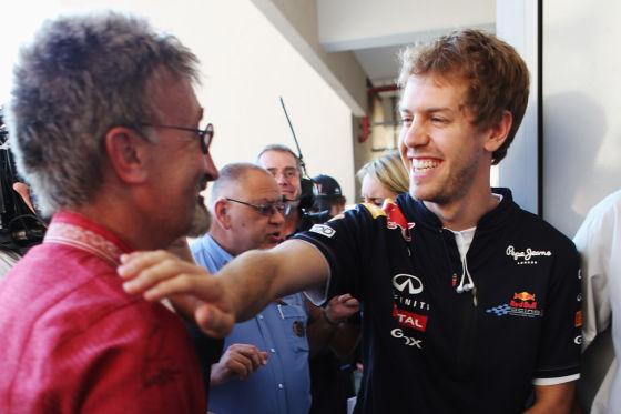 Jordan & Vettel