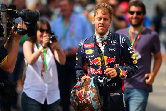 Vettel-Defekt in Q3