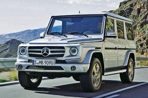 Das neue Mercedes G-Modell