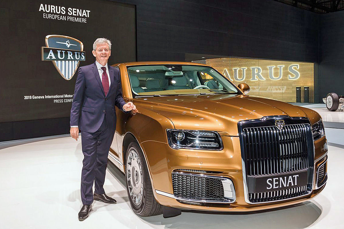 Aurus Senat, Putins neue Staatskarosse