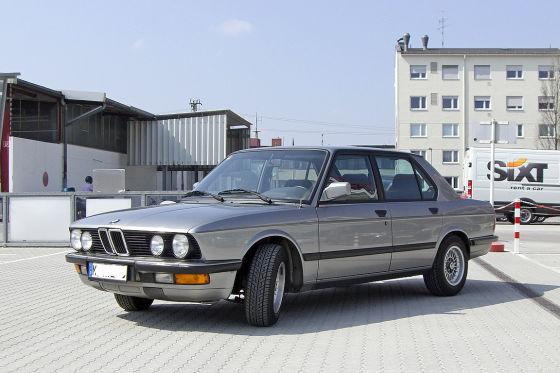 BMW 520i Baujahr 1987