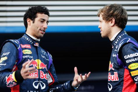 Ricciardo & Vettel