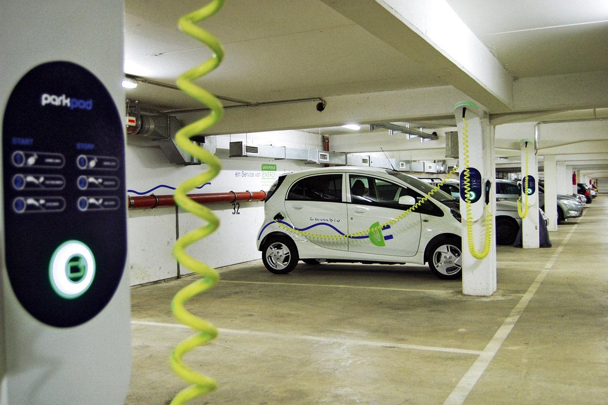 Carsharing: Fahrzeug von Cambio