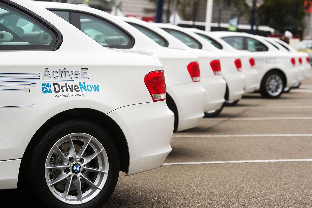 Carsharing: Fahrzeug von DriveNow