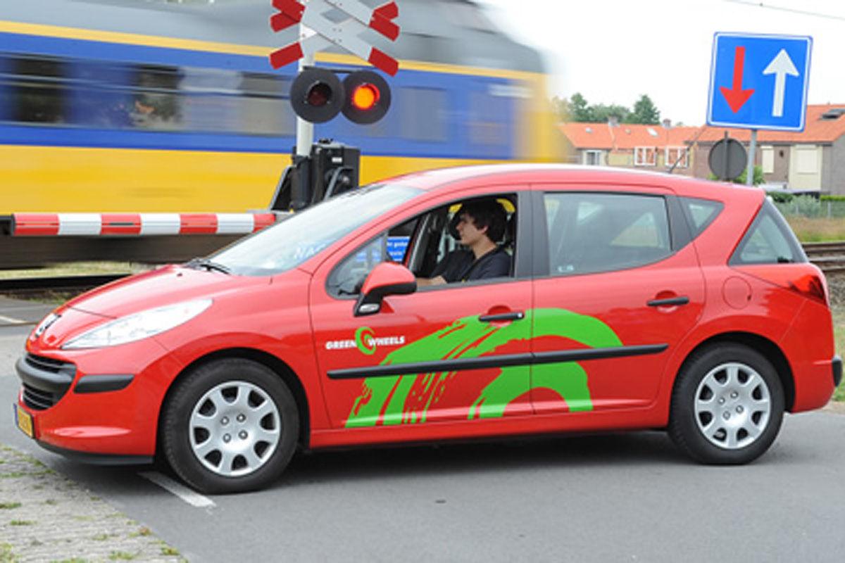 Carsharing: Fahrzeug von Greenwheels
