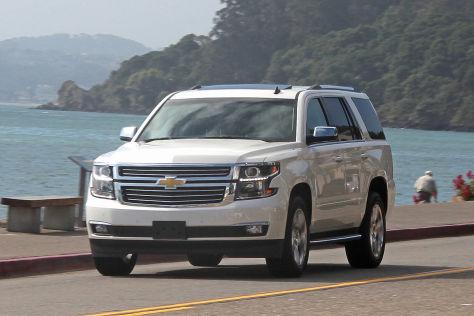 Chevrolet Tahoe: Fahrbericht - autobild.de