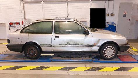 Dortmund: vermooster Ford Sierra