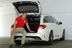 Mercedes C-Klasse T-Modell: Sitzprobe