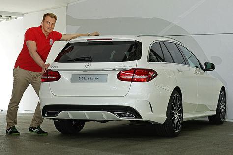 Mercedes C Klasse T Modell Sitzprobe Autobild De