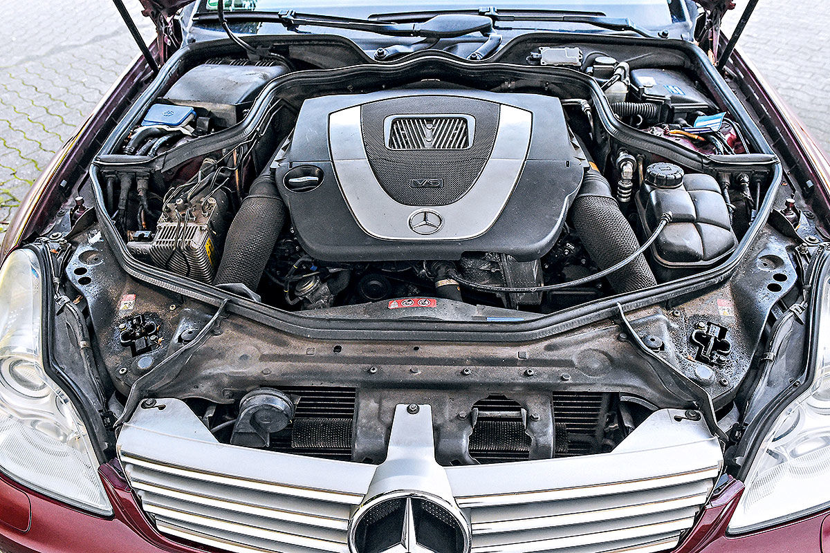 Gebrauchter Mercedes CLS im Test