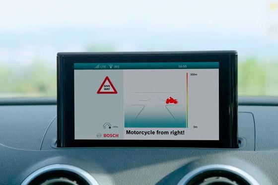 Anti-Kollisions-Radar fürs Motorrad