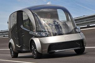 E-Lieferwagen der Zukunft