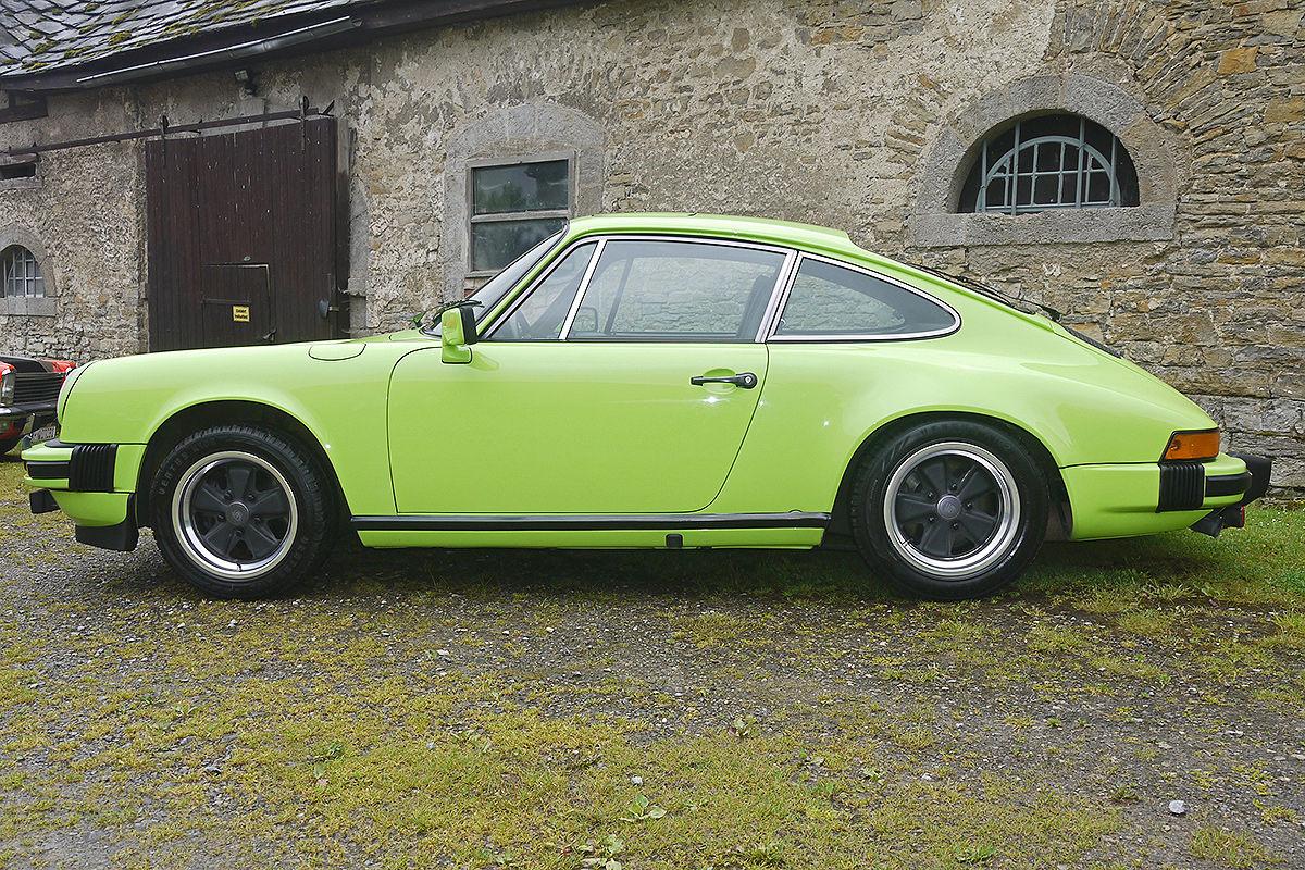 Porsche 911 Daphnegrün