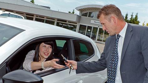 AUTO BILD-Test: Probefahrt online buchen