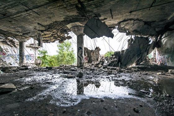 Leben in Trümmern