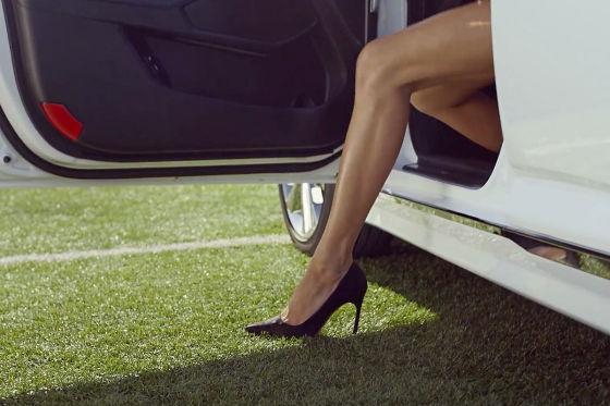 Supermodel heizt das WM-Fieber an