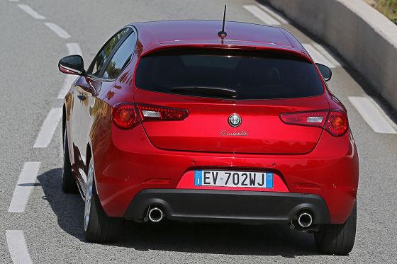 Alfa Romeo Giulietta QV Heckansicht
