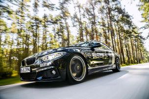 BMW mit dicken Backen