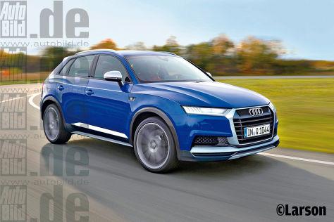 Audi Q Und VW Golf SUV Autobildde - Audi q1