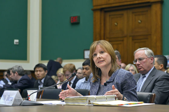 Mary Barra vor dem US-Kongress