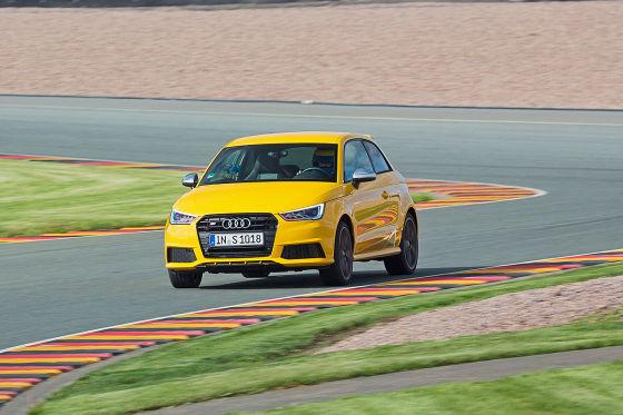 Audi S1 gelb Frontansicht