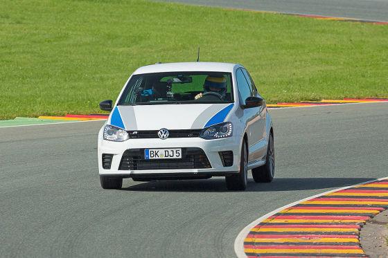 VW Polo R WRC weiß Frontansicht