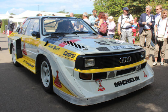 Audi Ur-Quattro in Goodwood