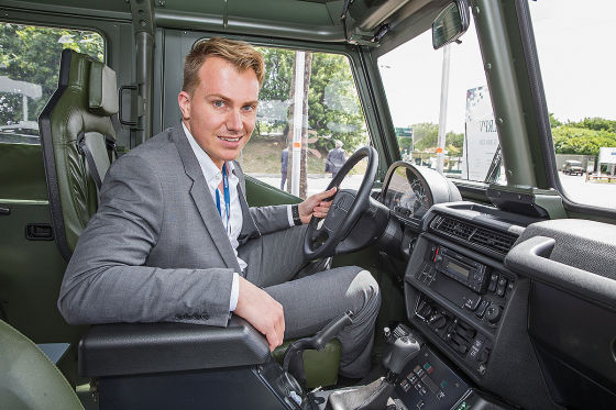 Sitzprobe im Elite-Benz