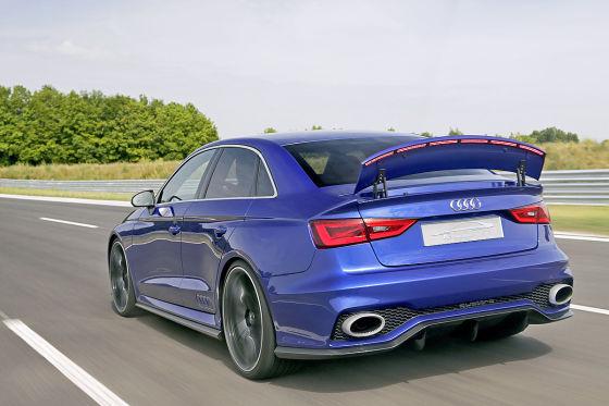 Thomas Geiger im Audi A3 clubsport quattro