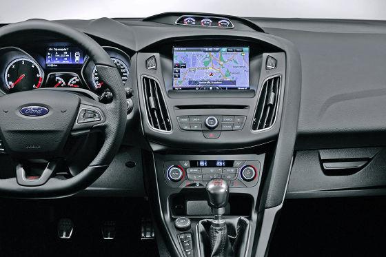 Cockpit Ford Focus ST Facelift