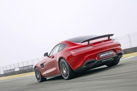 Mercedes AMG GT Heckansicht
