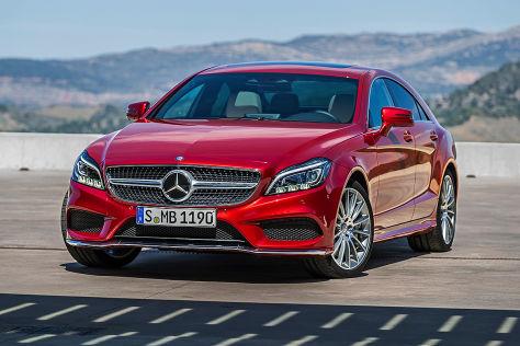 Mercedes Cls Facelift 2014 Preis Autobild De