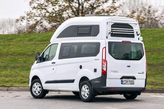 campingbus ford nugget ford nugget campingbus wohnmobil. Black Bedroom Furniture Sets. Home Design Ideas