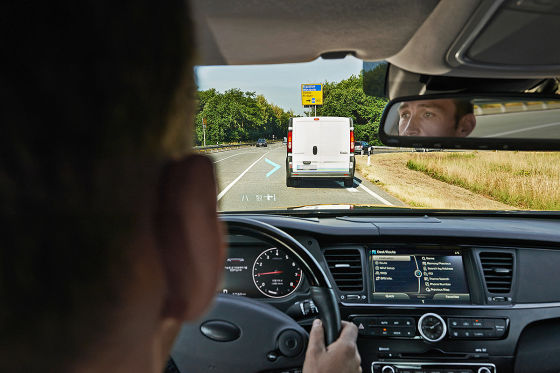 Head-Up-Display mit Augmented Reality