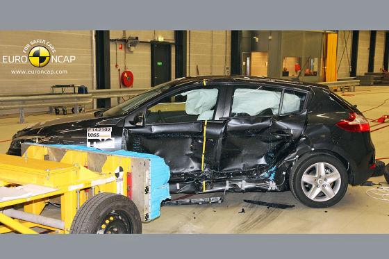 Renault Mégane Crash